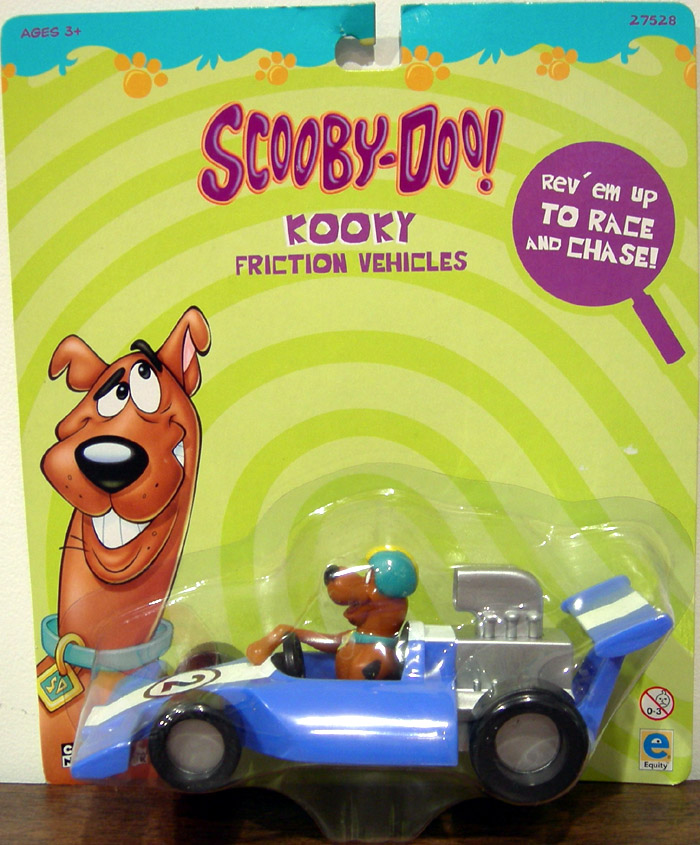 Scooby doo race car kooky friction vehicle - Race de scooby doo ...