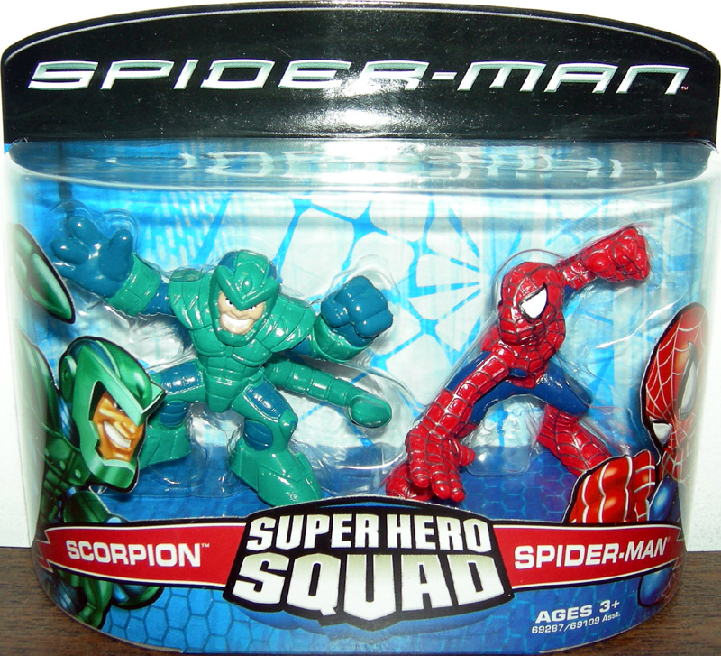Scorpion & Spider-Man (Super Hero Squad)