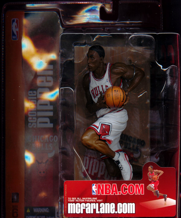 Scottie Pippen (series 6, white uniform)