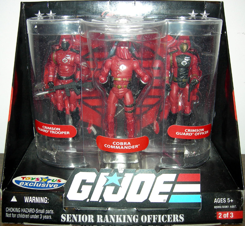 Senior Ranking Officers 3-Pack (Crimson Guards)