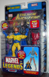 Sentry (Marvel Legends, bright yellow variant with beard)