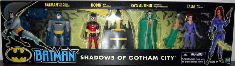 Shadows of Gotham City 4-Pack