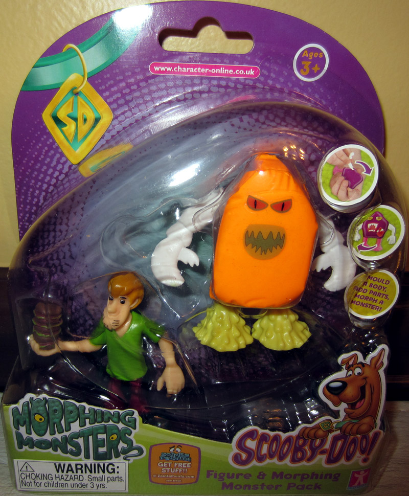 Shaggy & Morphing Monster Pack