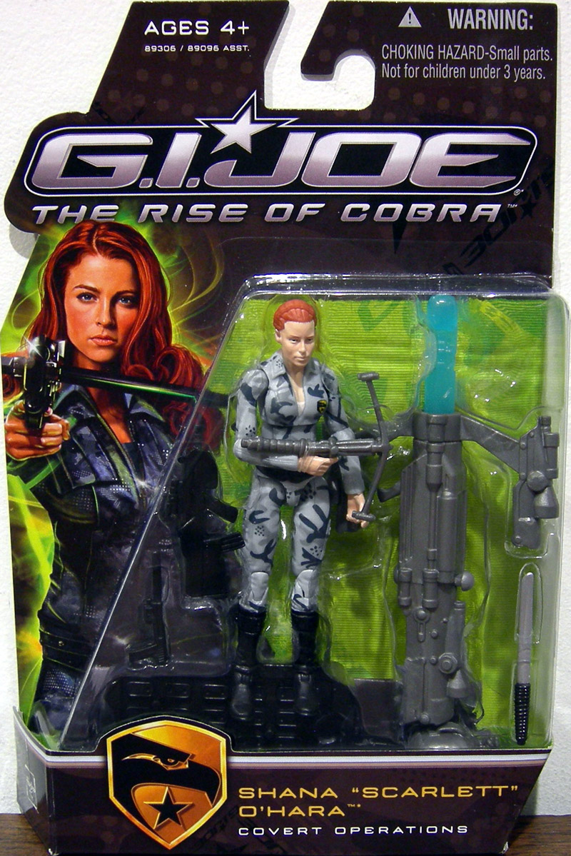 Shana Scarlett O'Hara Covert Operations (The Rise of Cobra)
