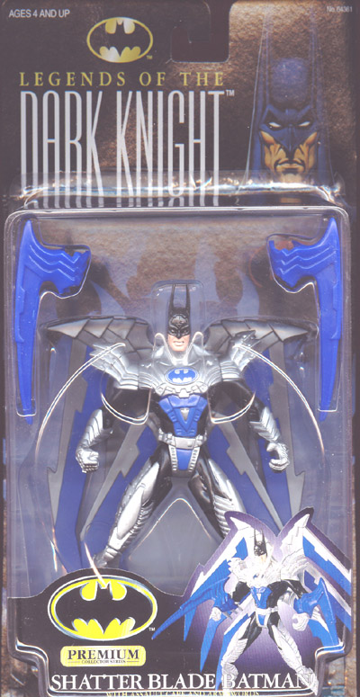 Shatter Blade Batman (Legends Of The Dark Knight)