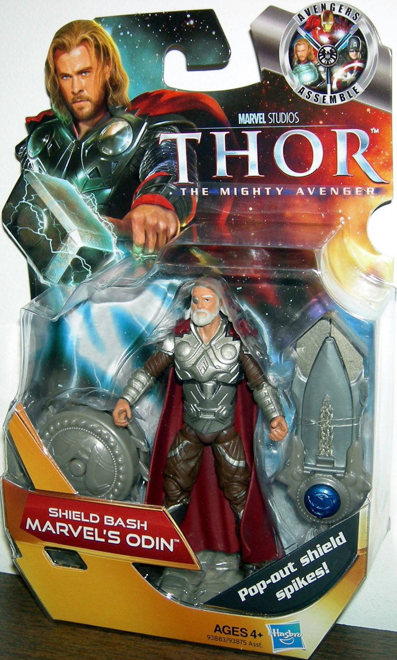 Shield Bash Marvel's Odin
