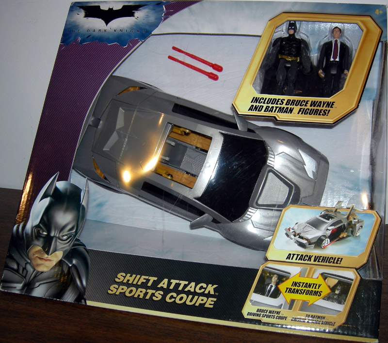 Shift Attack Sports Coupe (The Dark Knight)