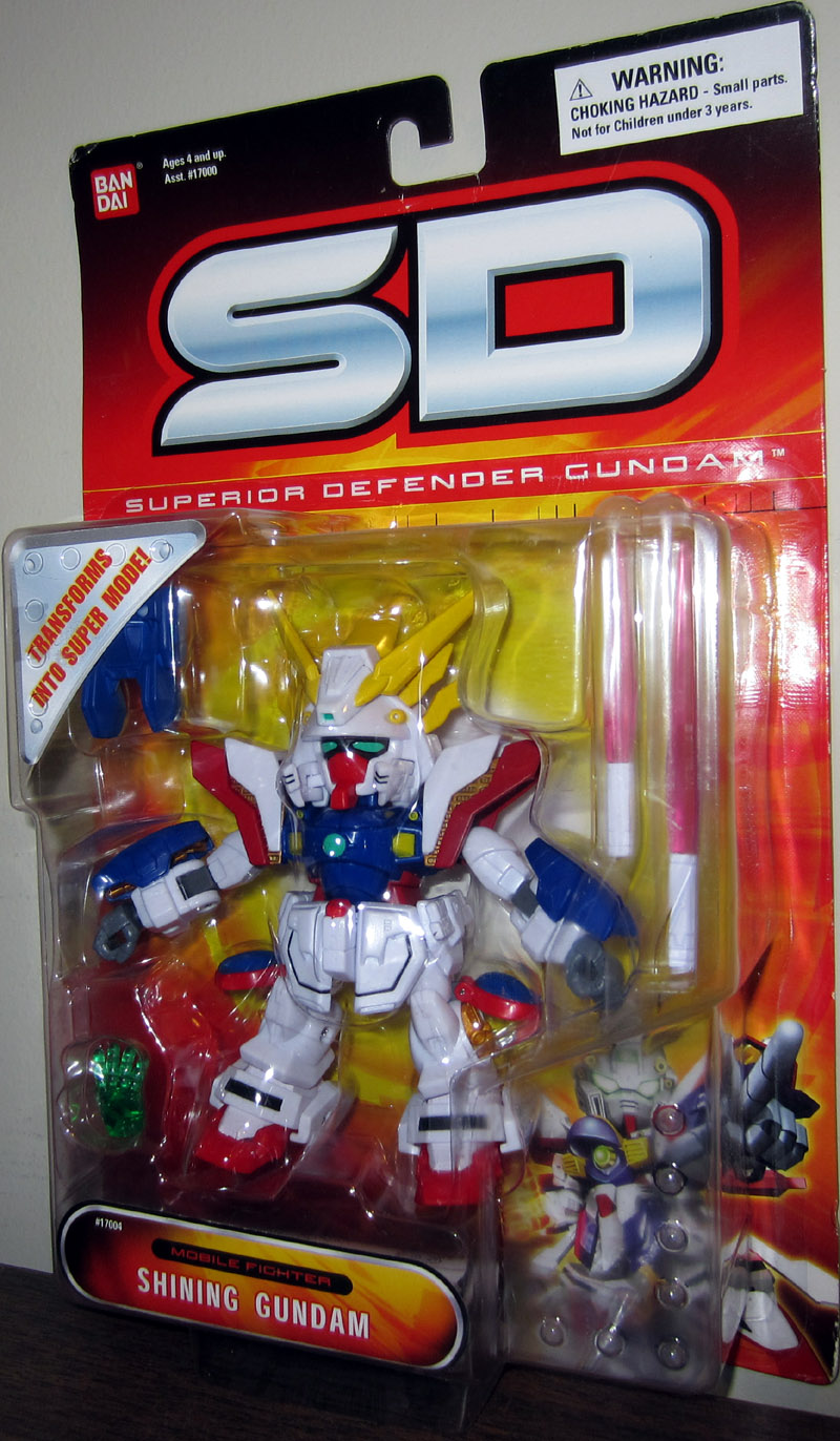 Shining Gundam (Superior Defender)