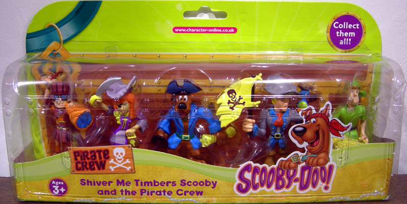 Shiver Me Timbers Scooby and the Pirate Crew 5-Pack (series 1)