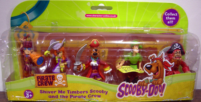 Shiver Me Timbers Scooby and the Pirate Crew 5-Pack (series 2)