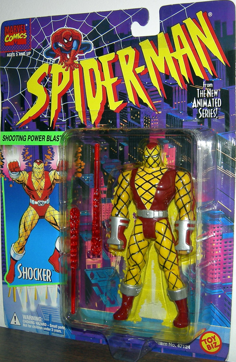 Shocker  Spider-Man Animated The Spectacular Spider Man Shocker