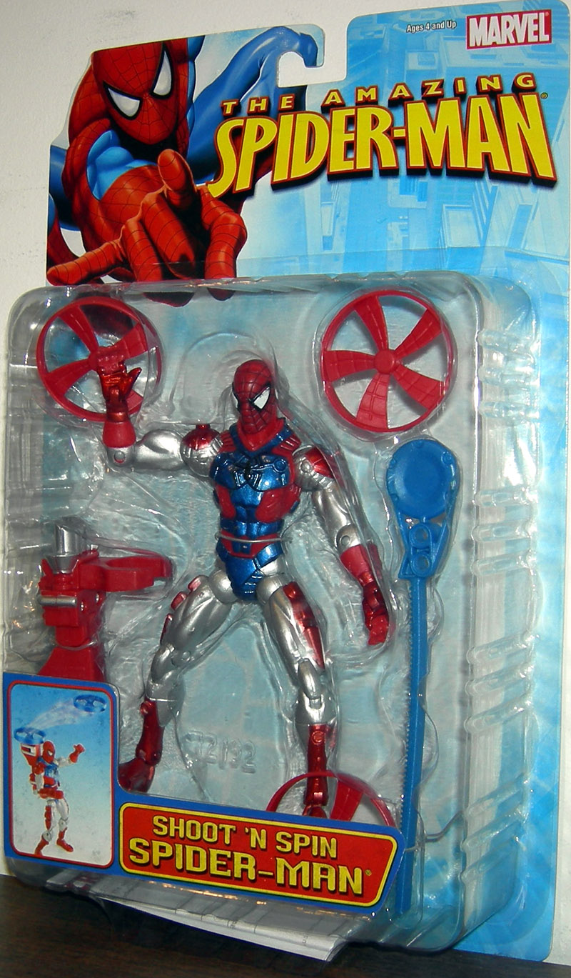 Shoot 'N Spin Spider-Man (The Amazing Spider-Man)