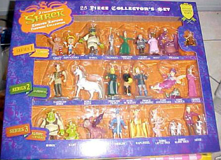 Shrek 25 Piece Collector's Set