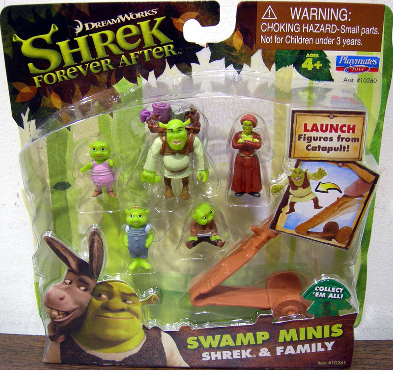 Shrek & Family (Swamp Minis)