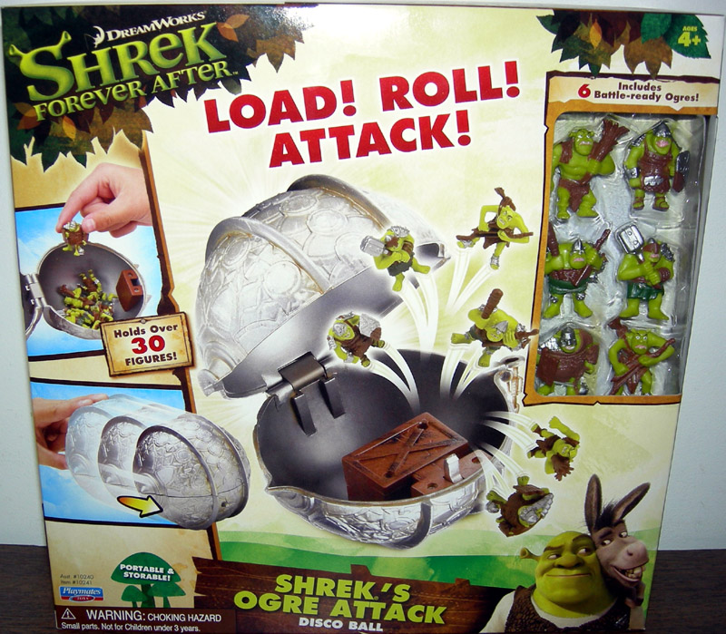 Shrek's Ogre Attack Disco Ball