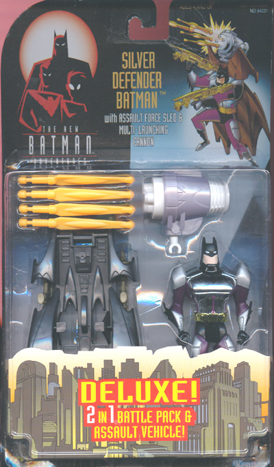 Silver Defender Batman (The New Batman Adventures)