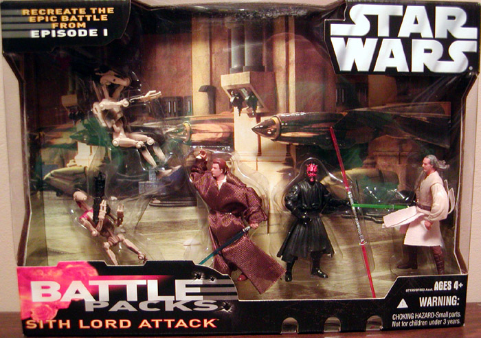 Sith Lord Attack Battle 5-Pack