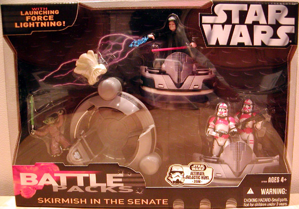 Skirmish in the Senate Battle 4-Pack