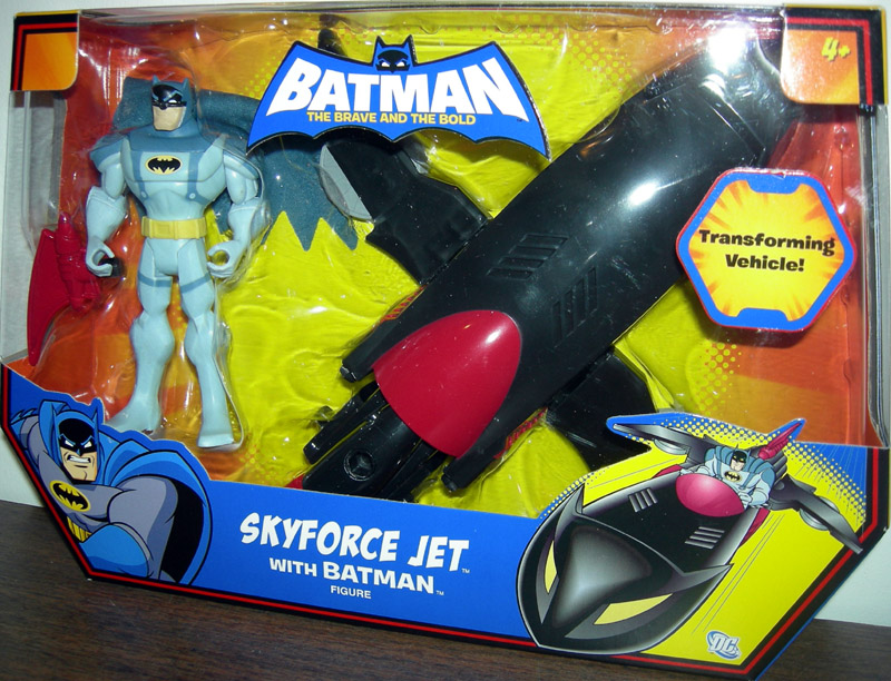 Skyforce Jet with Batman