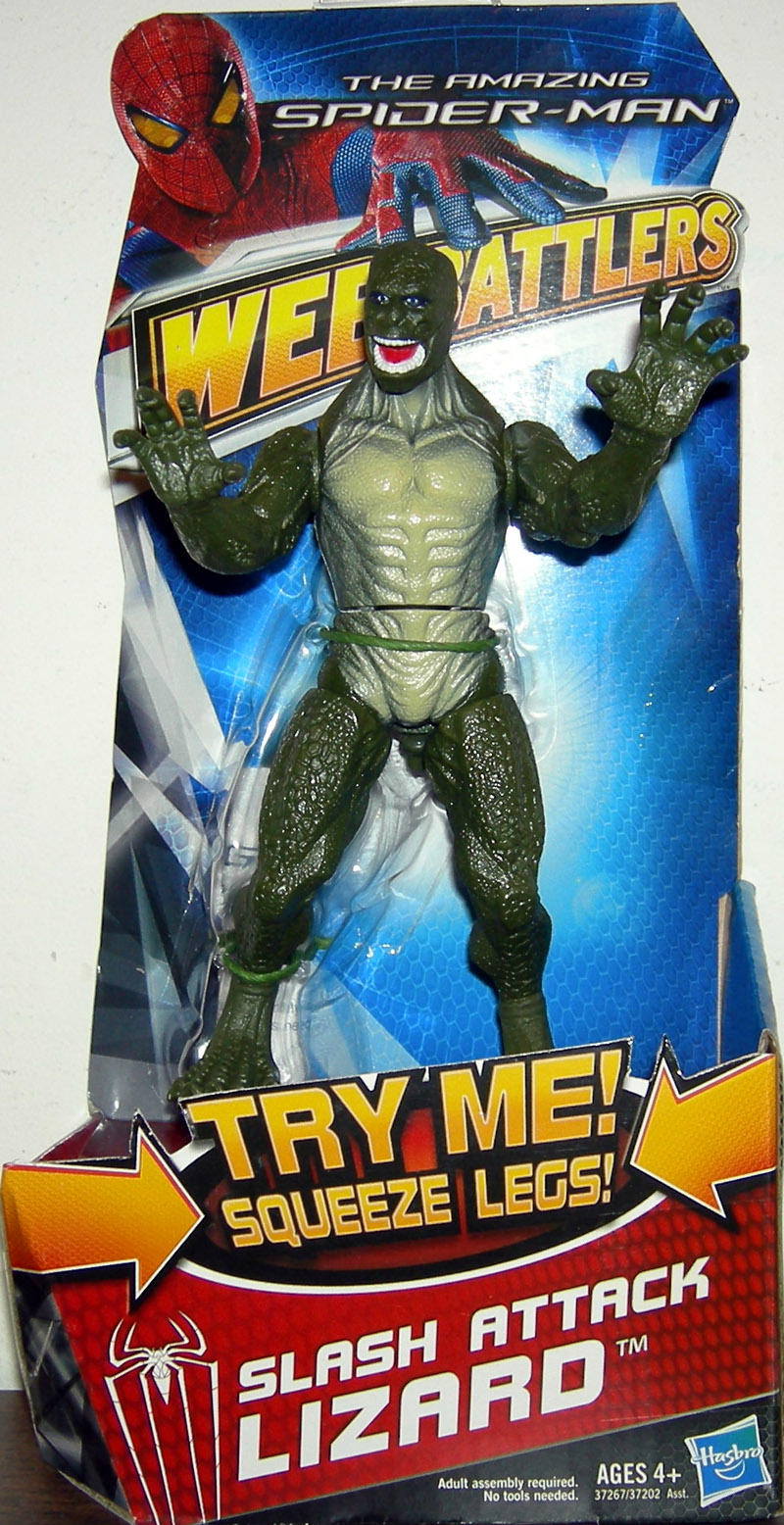 Slash Attack Lizard (Web Battlers, The Amazing Spider-Man Movie)