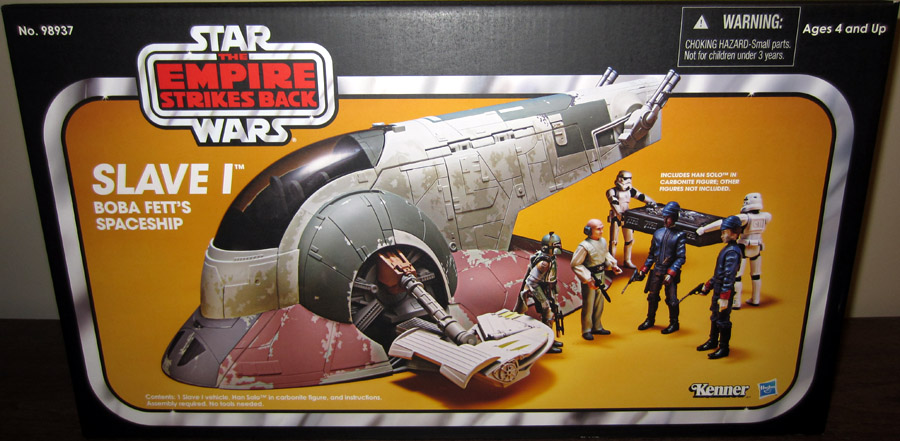 Empire Strikes Back Slave I Boba Fett's Spaceship Vehicle (Exclusive)