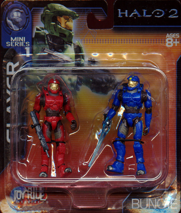 Slayer 2-Pack (Halo 2, Mini Series 1)