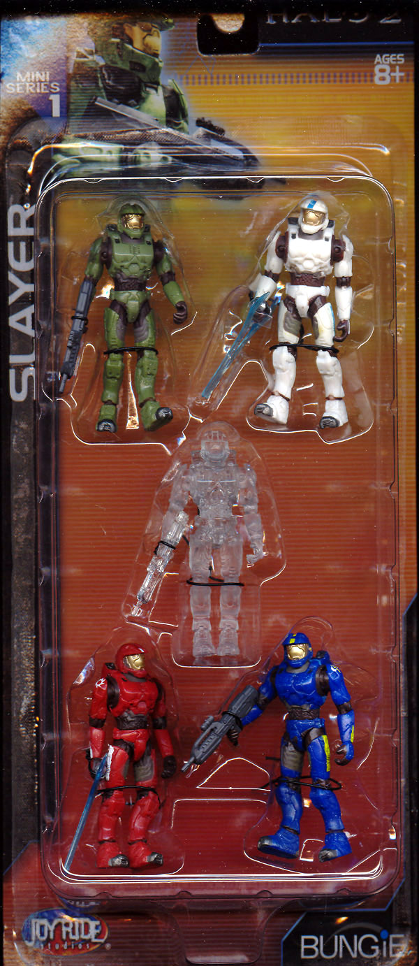 Slayer 5-Pack (Halo 2, Mini Series 1)