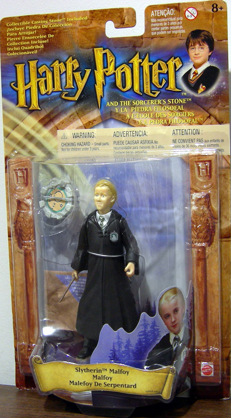 Slytherin Malfoy (with robe crest)