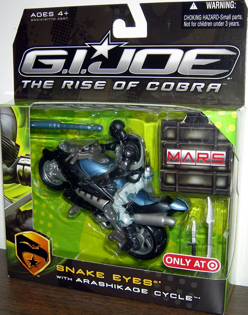 Snake Eyes with Arashikage Cycle (The Rise of Cobra)