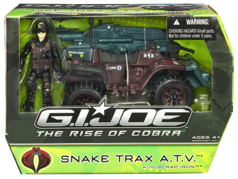 Snake Trax A.T.V. with Scrap-Iron (The Rise of Cobra)
