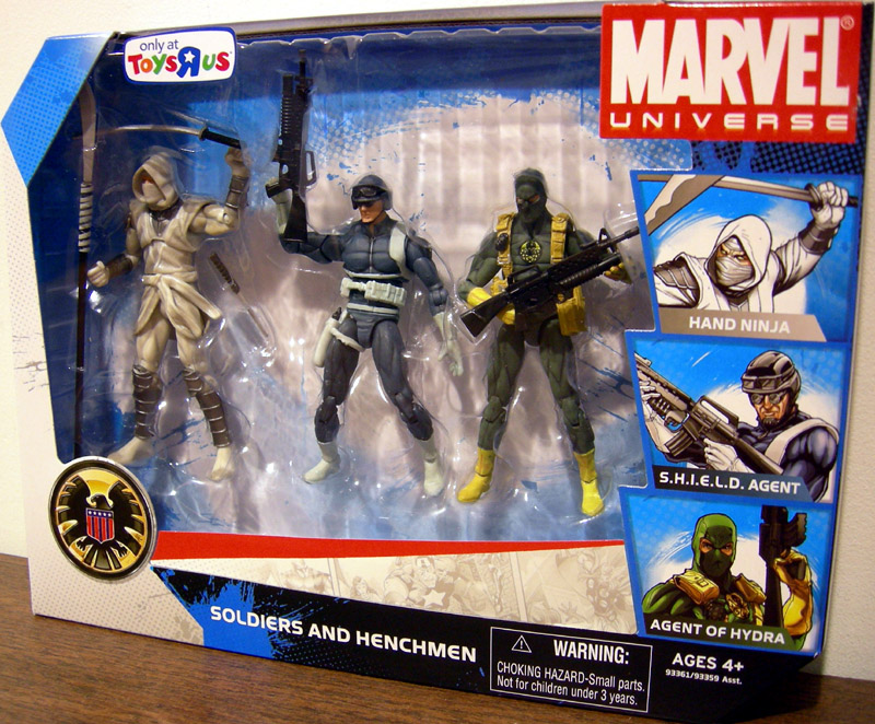 Soldiers and Henchmen 3-Pack (Marvel Universe)