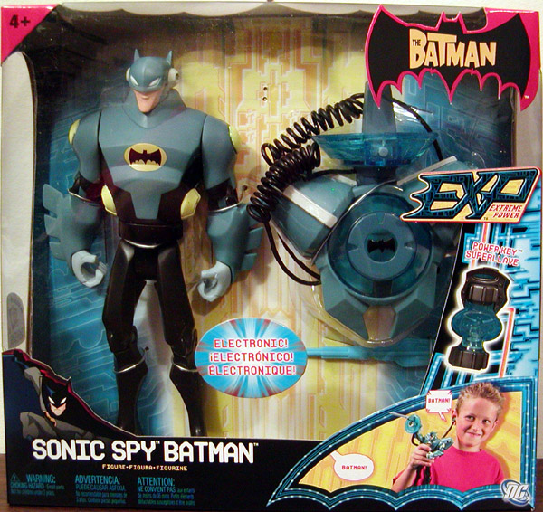 Sonic Spy Batman (EXP)