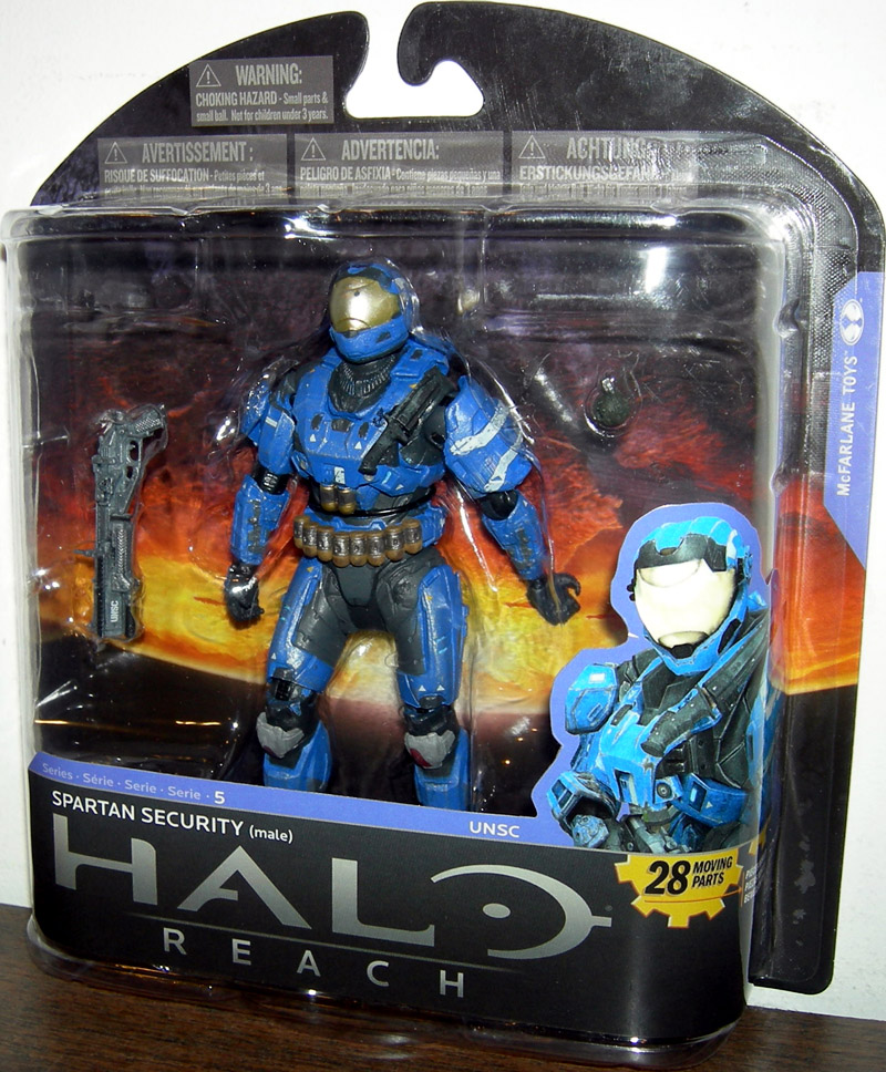 Spartan Security (series 5, Toys R Us Exclusive)