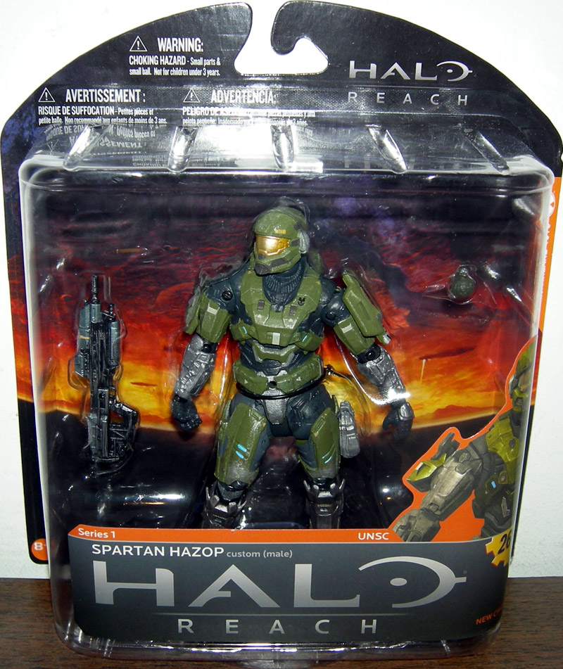 Spartan Hazop Custom (Male) (Olive/Steel)