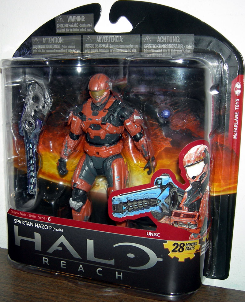 Spartan Hazop (Male, Rust, Toys R Us Exclusive)