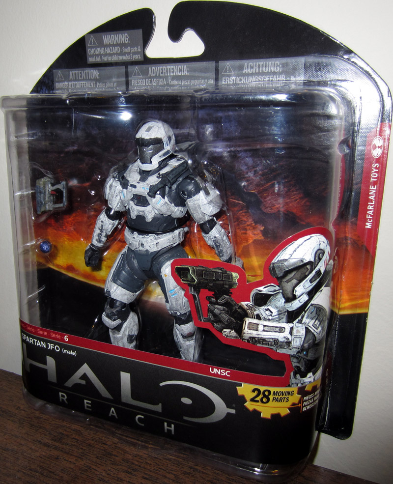 Spartan JFO (male, white, series 6, Walgreens Exclusive)