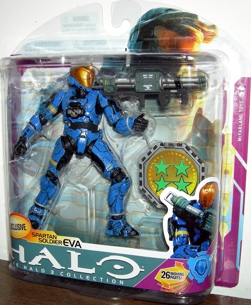 Spartan Soldier EVA (blue, exclusive)