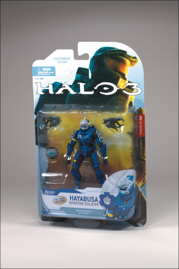 Spartan Soldier Hayabusa (blue, Wal-Mart Exclusive)