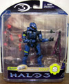Spartan Soldier Scout (Halo 3, series 3, blue)