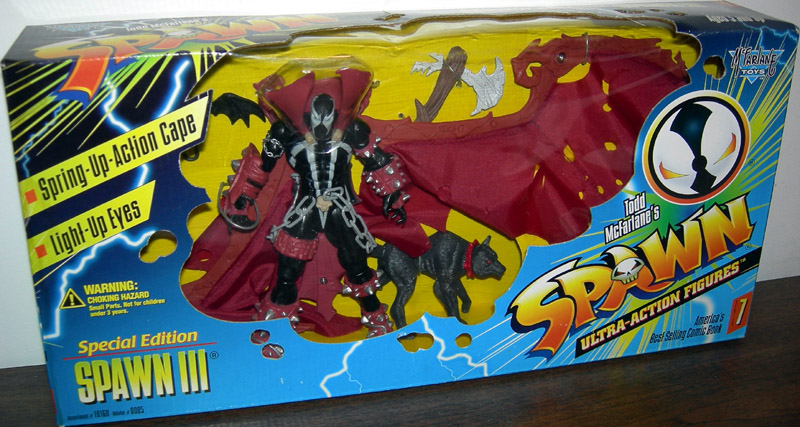 Spawn III (with wolf)