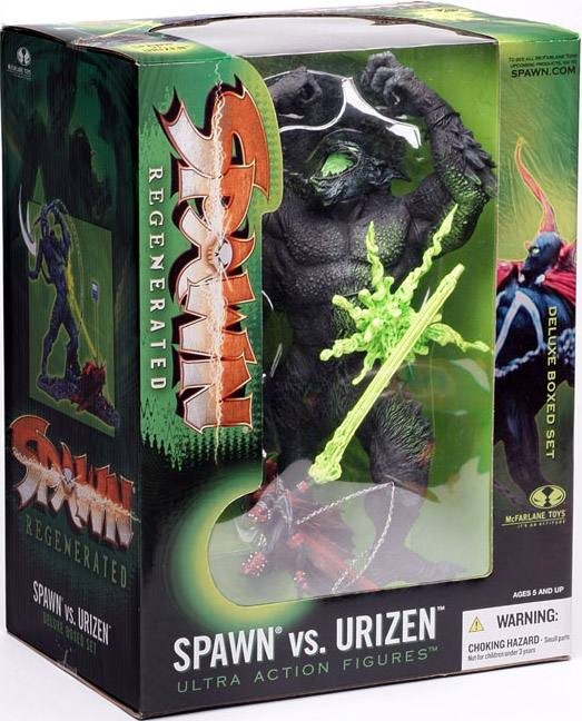 Spawn vs. Urizen deluxe boxed set