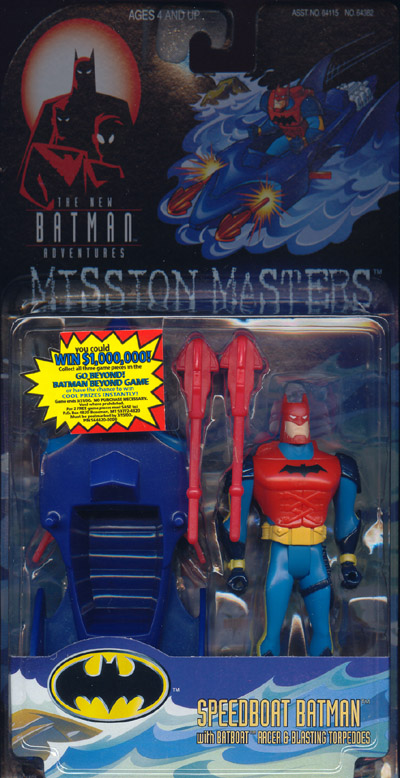 Speedboat Batman (Mission Masters)