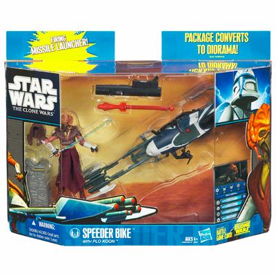 Speeder Bike with Plo Koon