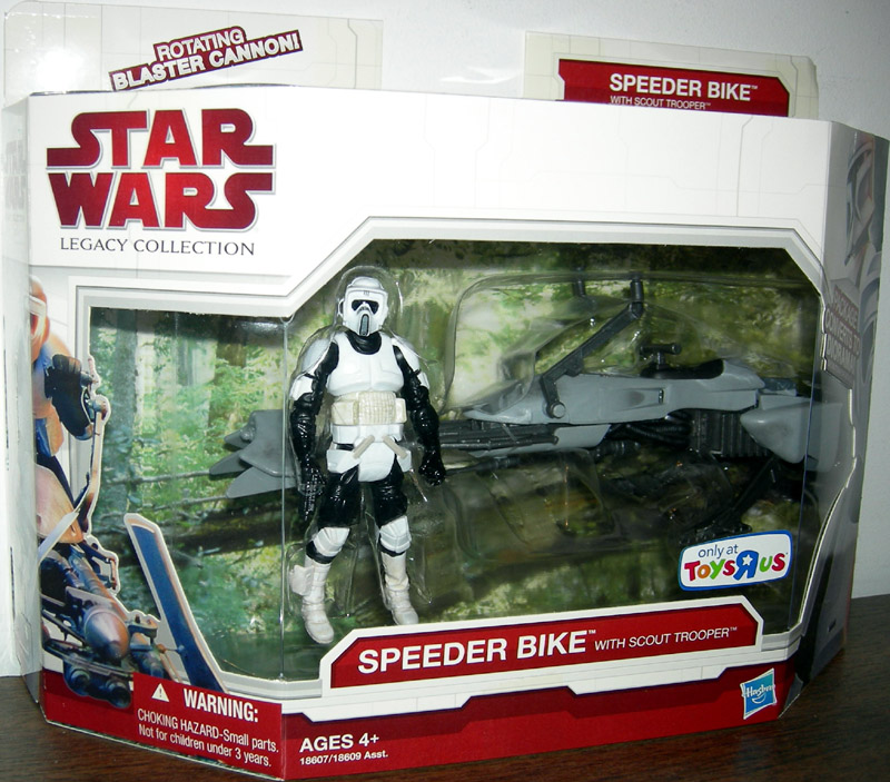 Speeder Bike with Scout Trooper (Legacy Collection)