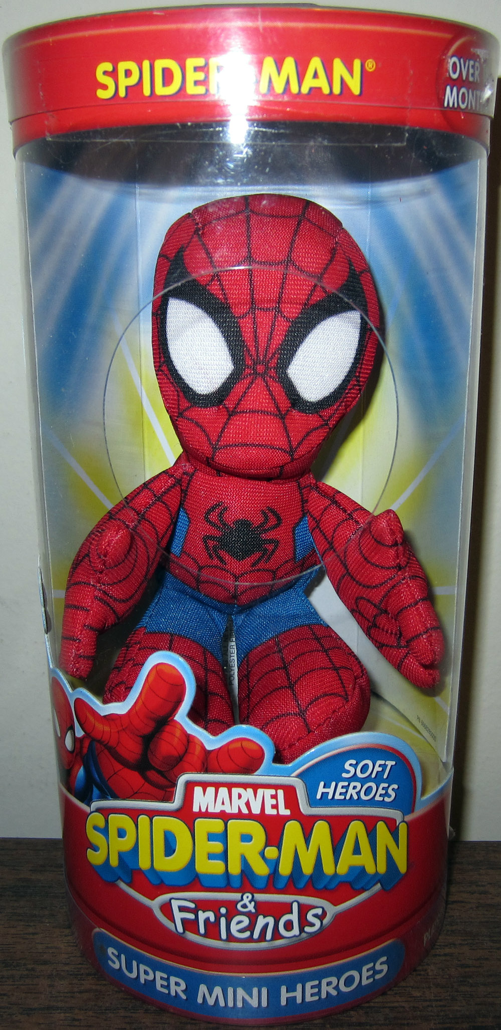 Spider-Man Super Mini Heroes Plush (Spider-Man & Friends)