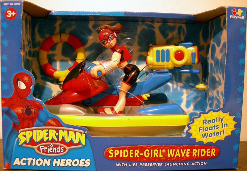 Spider-Girl Wave Rider