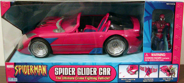 Spider Glider Car (Classic, red)