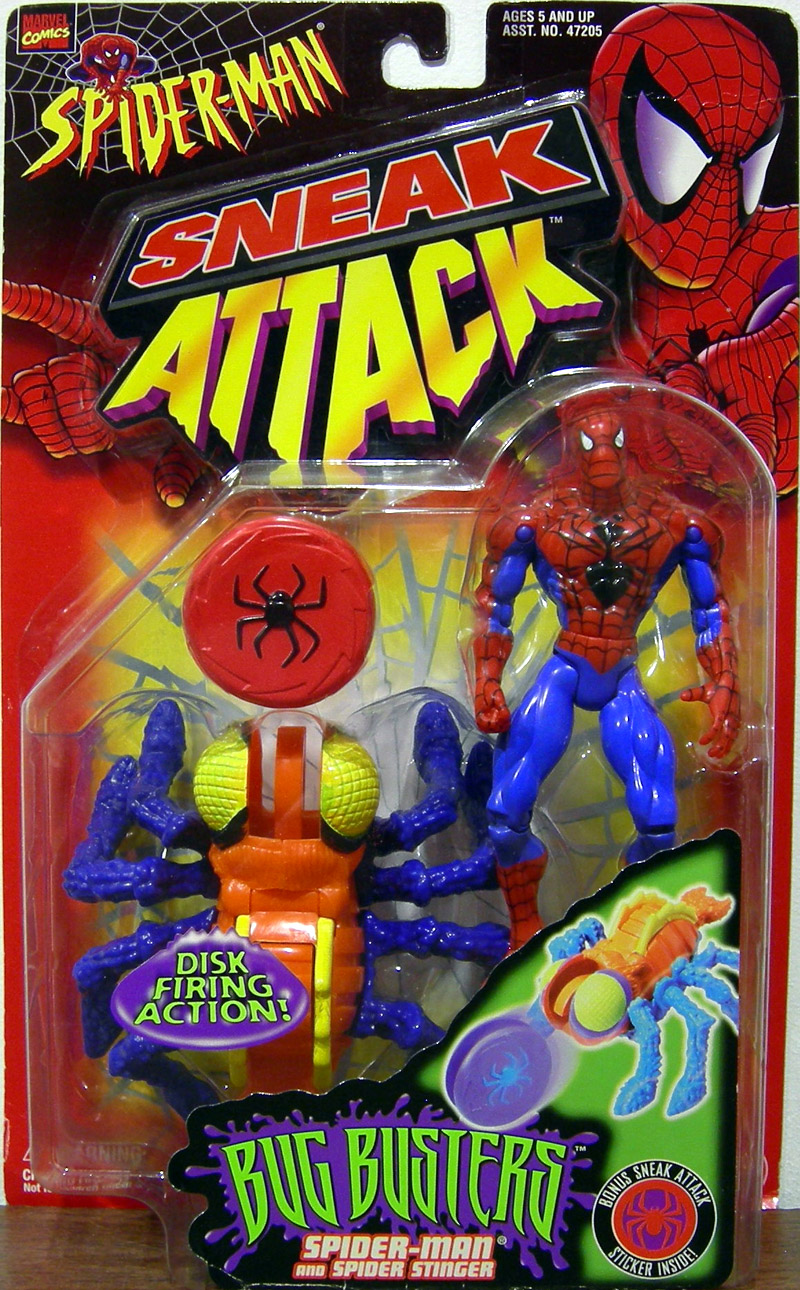 Spider-Man and Spider Stinger (Bug Busters)