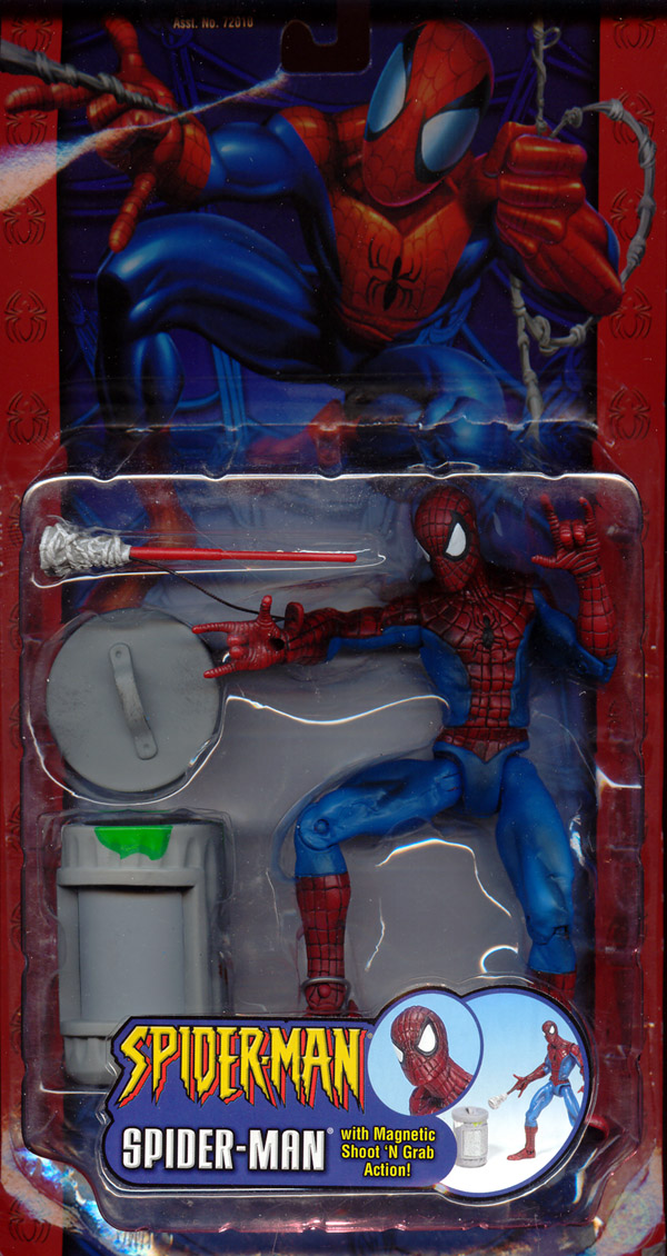 Spider-Man with magnetic shoot 'n grab action (Classic)