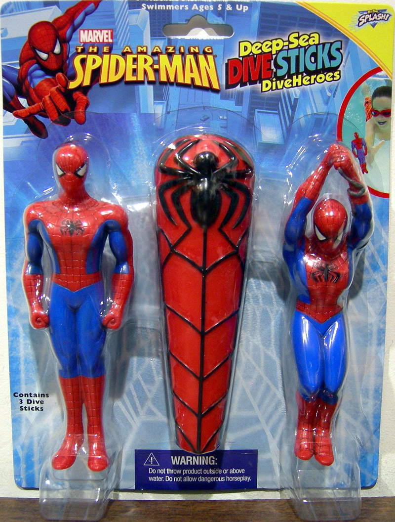 The Amazing Spider-Man Deep-Sea Dive Sticks